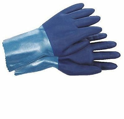 Spontex Bluettes, Large, Blue, Household Work Gloves 19005