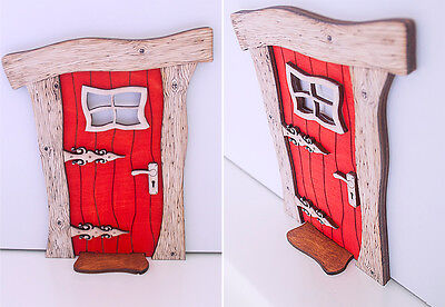 Fairy Door, Christmas Wooden Fairy Door, Fairy/Elf Door, Elf Door