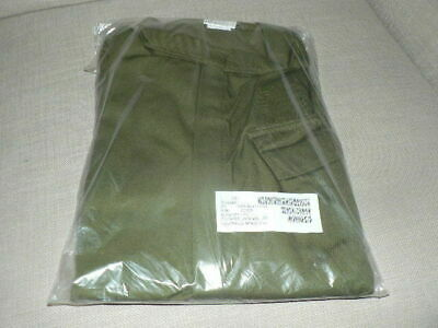 Overalls green olive NEW & used Grades A B C 750-950g polycotton MOD army supply