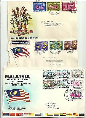 Malaysia  stamps and covers (27covers)