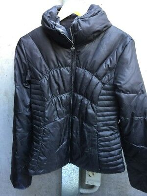 GUESS • Women ** DUCK Down Jacket • Fits Small-Med • Black