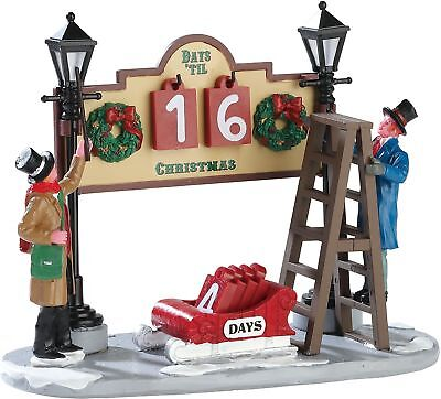 Coventry Cove By Lemax Christmas Village Accessory- Lamplighter Countdown