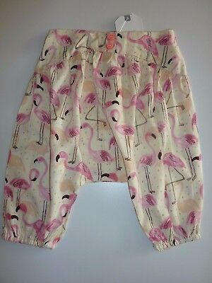NEXT Really Cute Little Girls Flamingo Trousers NWT
