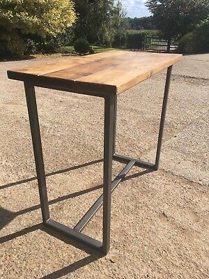 Industrial Reclaimed Style Poseur Table (table only) Bar, Cafe & Restaurant