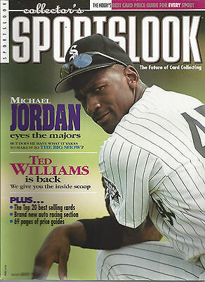 Michael Jordan Cover Collectors Sports Look Magazine August '94 & Sports Market