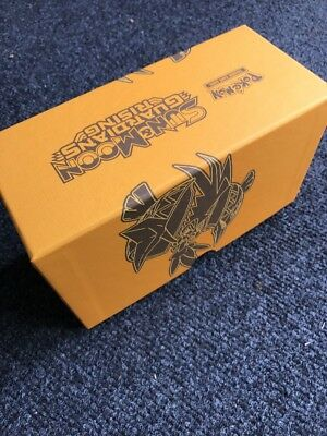 Empty Pokemon Trainer Kit Box Guardian Last Rising Storage