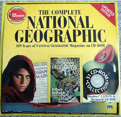 The Complete National Geographic collection(1888 - 1997)  CD-ROM