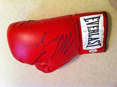 Mike Tyson Signed Glove