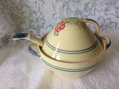 Susie Cooper Kestrel Tureen in Nosegay with matching Ladle