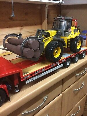 RC 1:14 Scale Log Loader Suit Tamiya / Carson Trailer Load