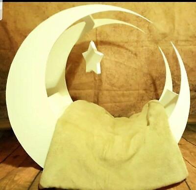 newborn moon and star photography prop