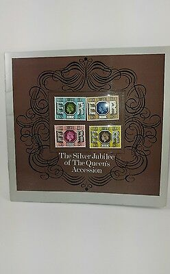 Silver jubilee stamps 1977