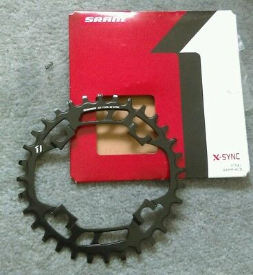 SRAM X-Sync 11 speed Narrow Wide NW Chainring Black 94mm BCD 32t 11spd chain