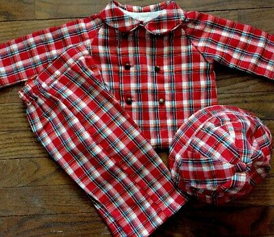 Thomas Infant boy or girl  vintage outfit 3 pcs 12 mo RARE FIND- 1960'S UNISEX