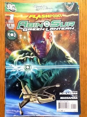 Flashpoint Abin Sur Green Lantern 1 of 3 - August 2011 - postage discounts apply