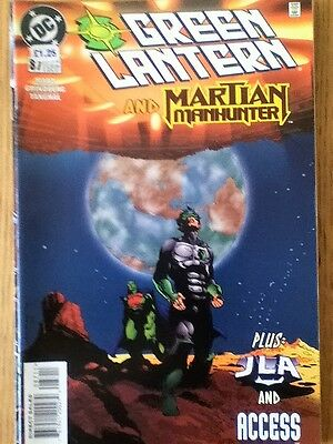 Green Lantern issue 87 (VF) from June 1997 - postage discounts apply