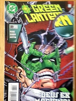 Green Lantern issue 89 (VF) from August 1997 - postage discounts apply