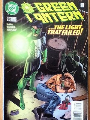 Green Lantern issue 90 (VF) from September 1997 - postage discounts apply