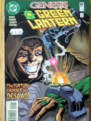 Green Lantern issue 91 from October 1997 - postage discounts apply