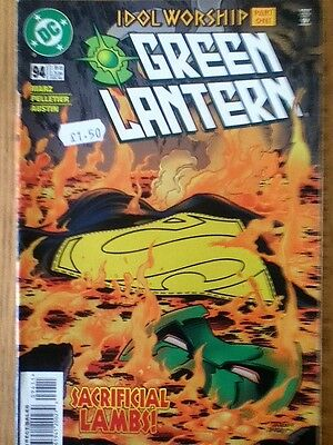 Green Lantern issue 94 from January 1998 - postage discounts apply