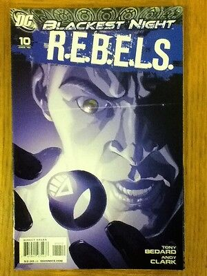 REBELS (Green Lantern) issue 10 (VF) from January 2010 - postage discounts apply