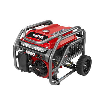 Black Max 3,600 / 4,500 Watt Portable Gas Generator - SHIPPING TO PUERTO RICO