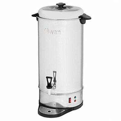 Swan Tea Urn Commercial Electric Catering Hot Water Boiler (Stainless Steel, 26