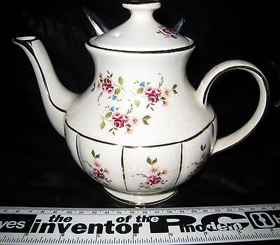 TEA POT WINTON - ARTHUR WOOD ENGLAND APX 14cm TALL WITHOUT LID (LID INCLUDED) l6