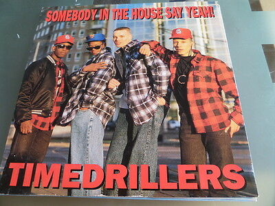 """Timedrillers Somebody In The House say yeah 12"""" single 45rpm"""