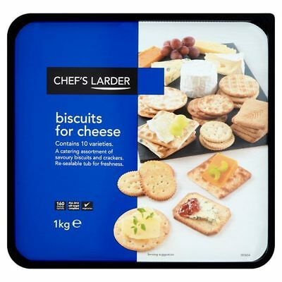 Chef's Larder Biscuits for Cheese 1kg Winner at Wholesale Q Awards 2015