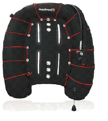 Red Hat Diving. SportTech 60 wing package. New. Wing harness and SS backplate