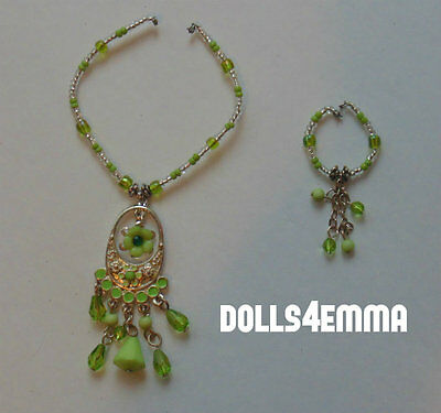 """Deluxe Jewelry Set for 18"""" Ideal Crissy Dolls Necklace and Bracelet NO DOLL"""