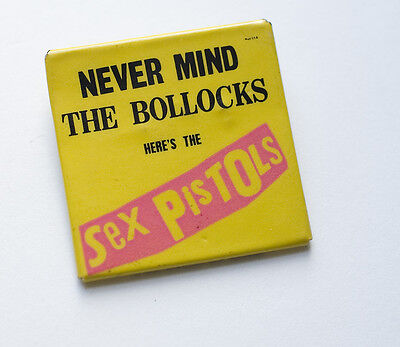 Sex Pistols Badge/Button - 1978 - Never Mind the Bollocks