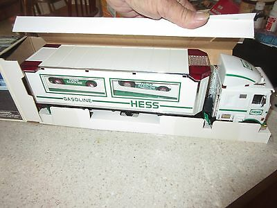 Hess Truck 1997 Toy Truck and Racer Never Played with or Displayed