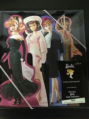 New And Unopened Barbie Collectible Card Collection
