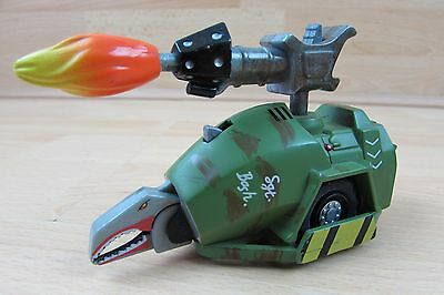 Rare BBC Large Robot Wars Sergeant Bash Pullback N Go Collectible Action Figure