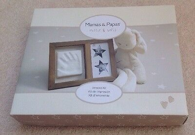 Mamas & Papas Millie and Boris Hand Imprint Kit With Frame