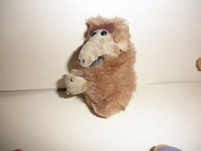 "Vintage 80s Russ Plush 4"" Alf The Alien Life Form TV Star Clip On Hugger"