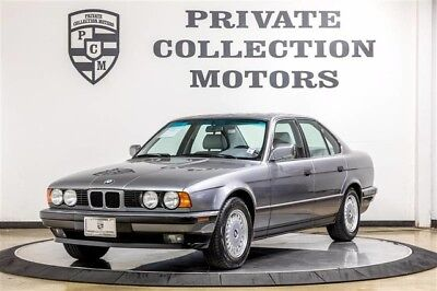 1992 BMW 5-Series Base Sedan 4-Door 1992 BMW 525i 1 Owner Clean Carfax Original Miles Well Kept