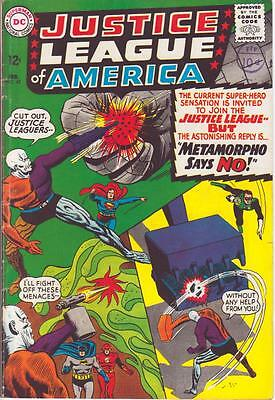 JUSTICE LEAGUE of AMERICA v1 #42 [FN+] 1965 (Metamorpho Flash Batman, Superman)