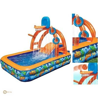 Water Park Inflatable Slides Big Splash Games Outdoor Baby Swimming Pool Kids