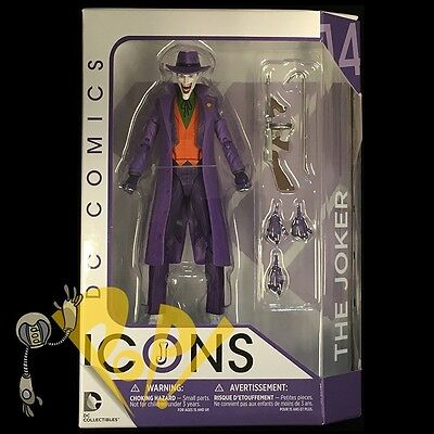 """DC Icons JOKER Death in the Family 6"""" Action Figure BATMAN DC Collectibles NEW!"""