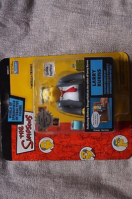 WOS Rare LARRY BURNS The Simpsons Figure series 11