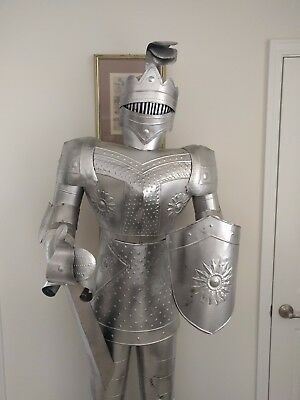 Decorative Knight Suit of Armor, Life Size 6.5 ft tall
