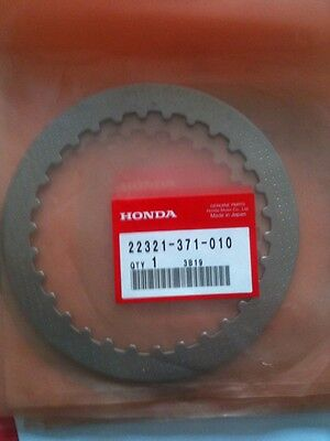 Honda Gold Wing Friction Plate