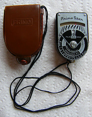 Vintage Kuwano Electrical Of Japan Primo Star 57A Light Meter With Case