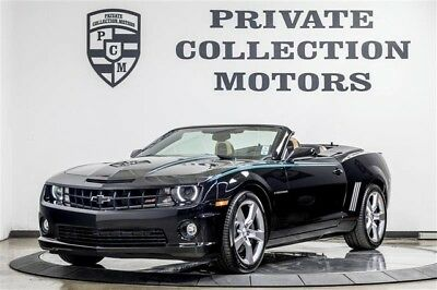 2011 Chevrolet Camaro SS Convertible 2-Door 2011 Chevrolet Camaro 300 Original Miles 1 Owner Local Trade Clean Carfax