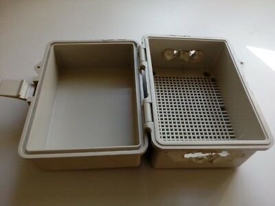Large Electrical Enclosure Plastic Box With Sealable Lid, Clip Lock & Seal