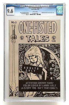 One-Fisted Tales #3 / CGC 9.6 NM+ / Featuring Cherry / Larry Welz
