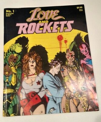 Love and Rockets Book One 1 Fantagraphics RARE 2nd Print 1992 NM Hernandez Bros